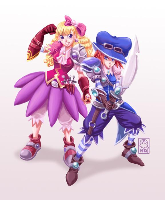 fighting girls by KarlaDiazC