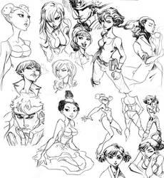 Doodles 3 by KarlaDiazC