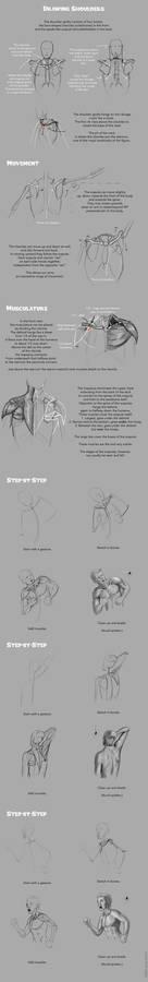 Drawing Shoulders Tutorial