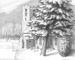 Saint Mary's in Snow