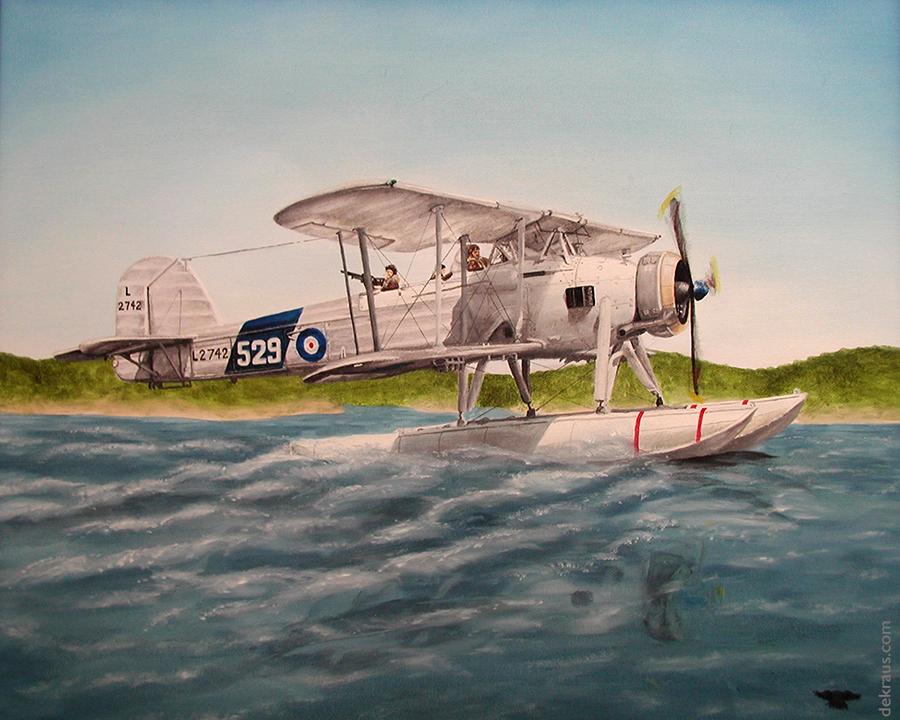 Fairey Swordfish by banjodi