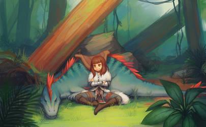 Commission - Zeryn by Advanced-Random