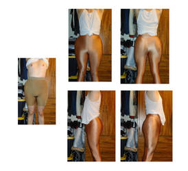 3 Inch Hip Pads Test ALL by bahamutknightzero