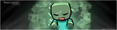 Minecraft zombie by mick1295