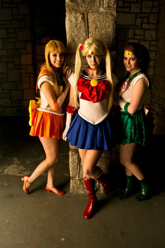 Sailor Scouts by KatiePryde
