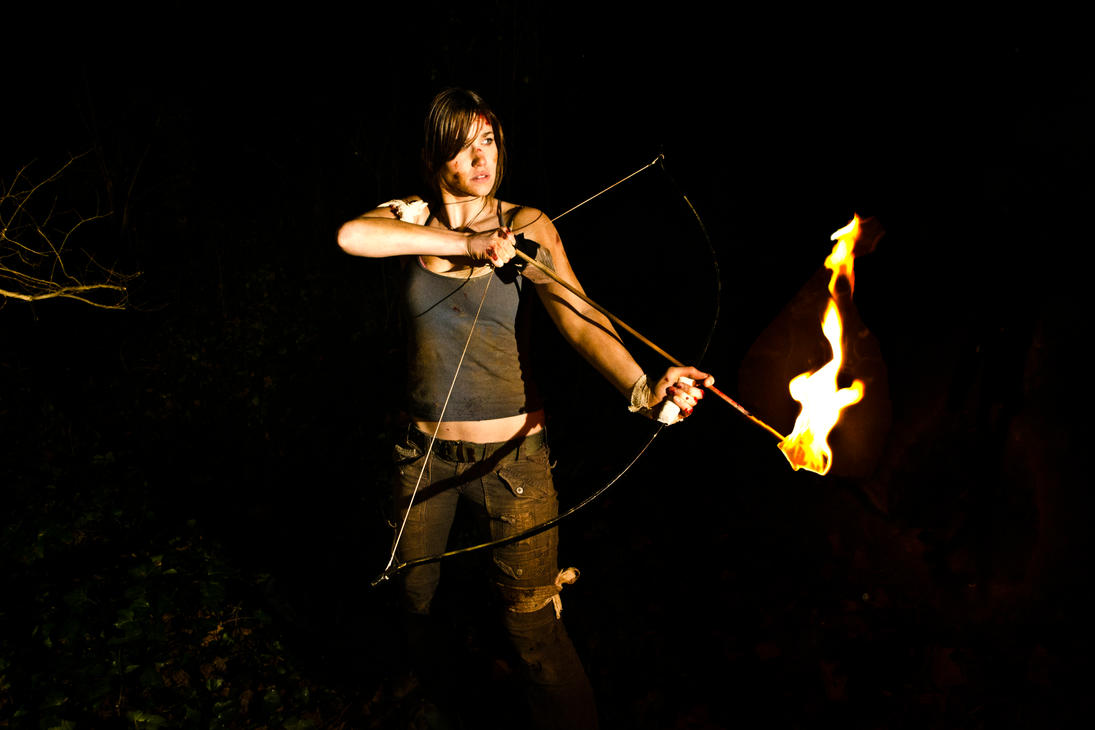 Flaming Arrow by KatiePryde
