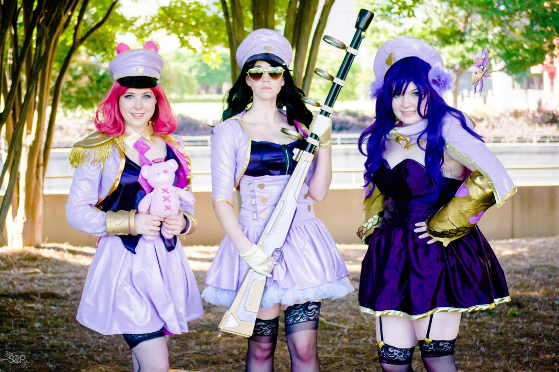 Popstar Annie, Caitlyn, and Lulu by KatiePryde