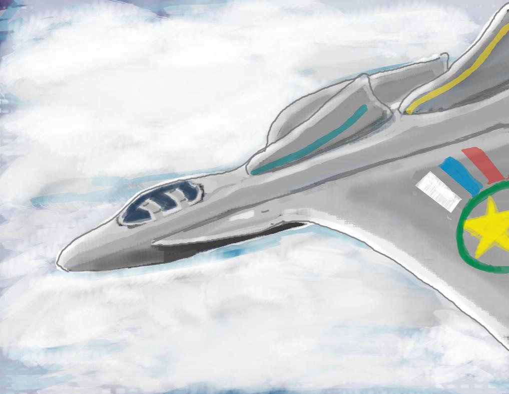 Jet Flying by JDBryan