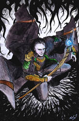The god of mischief and lies by Tuulisusi