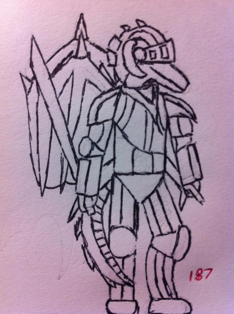 Sir Relvan/Pollux Golden Knight Update by DragonHeal187