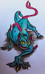 Demon Cat from Adventure Time