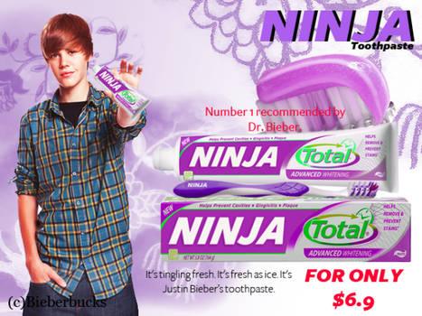 'NINJA Toothpaste'