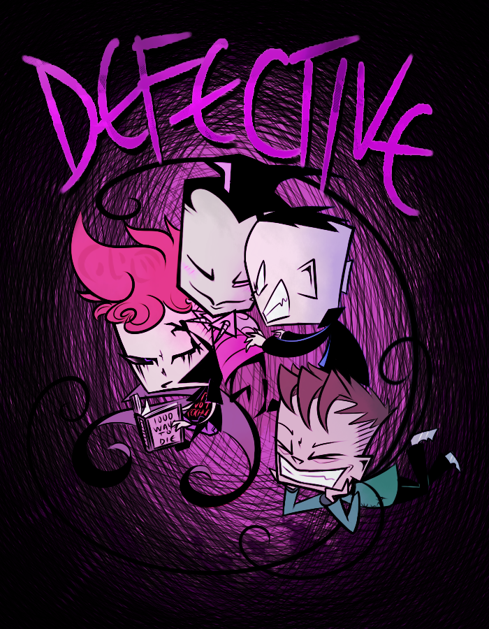 dEfEcTiVe? Cover! by ZiMagateophobia