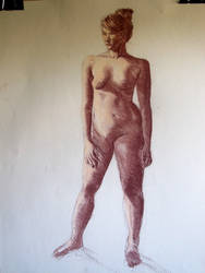 2 Hour Life Nude Figure Study by LovinFineArtistry