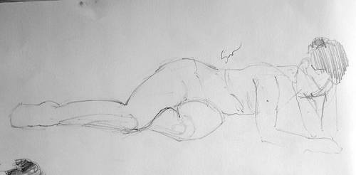 Life drawing by LovinFineArtistry