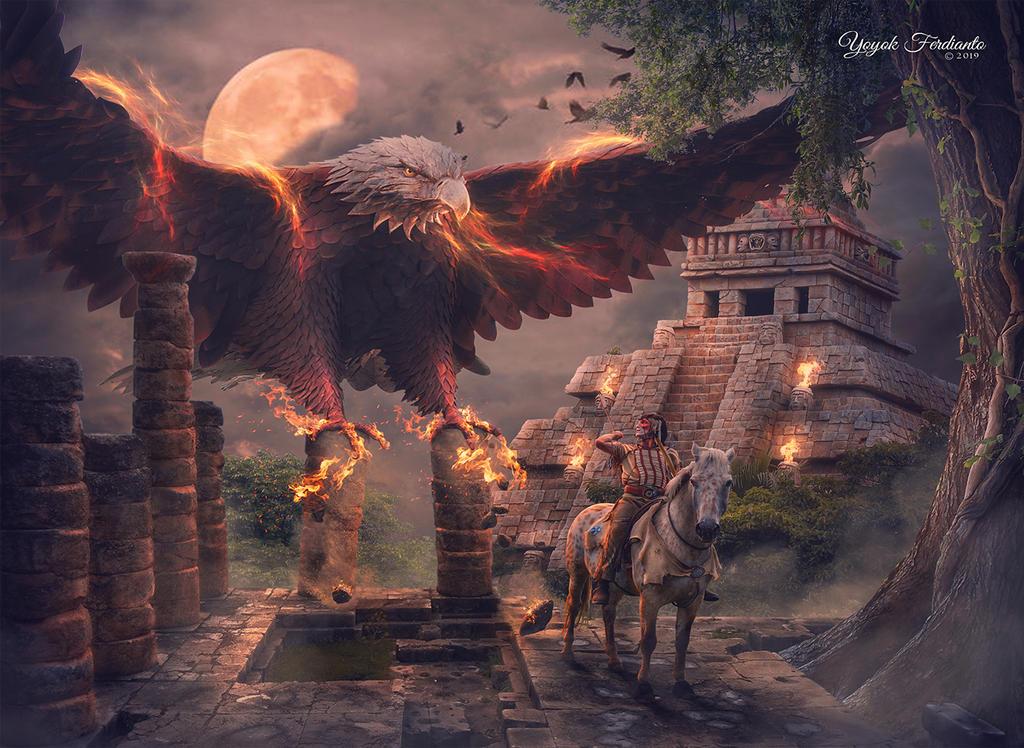 Fire Eagle Attack by yferdianto