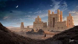 The Lost Castle in the Desert