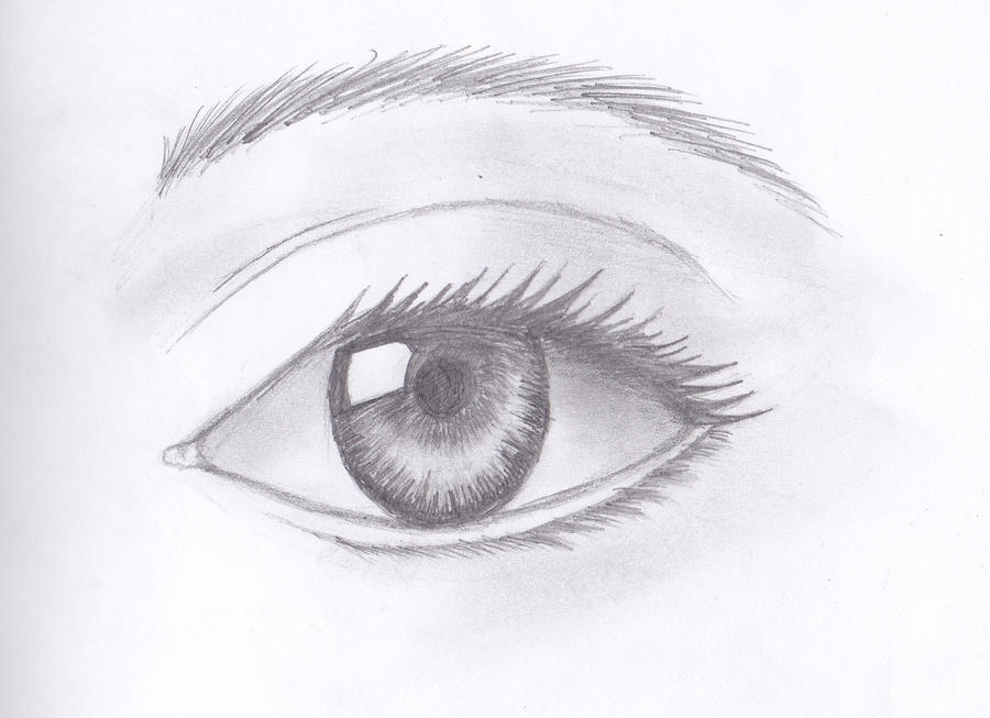 how to draw eyes easy drawing pics