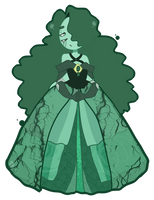 Gemsona - Emerald by Hashiero