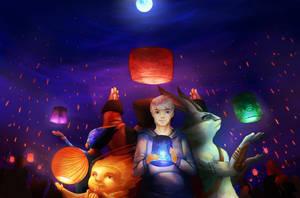 Sending Dreams into the Universe by Saiyuta