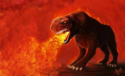 Hell hound by Jamesh2