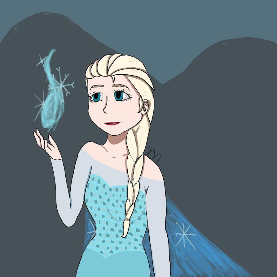 Elsa by XDAnnabethChaseXD