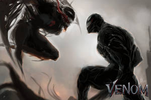 Venom vs Riot by PhenkyStephen