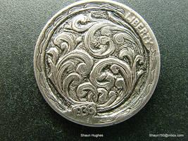 Hobo Nickel engraving by shaun750