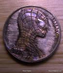 Hand Carved Spider-Man Hobo Nickel