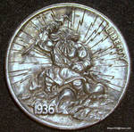 Hobo Nickel Zeus