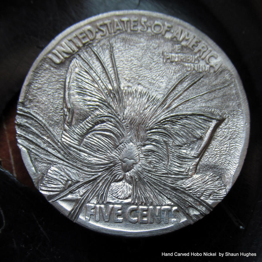 Kitty carving by shaun750