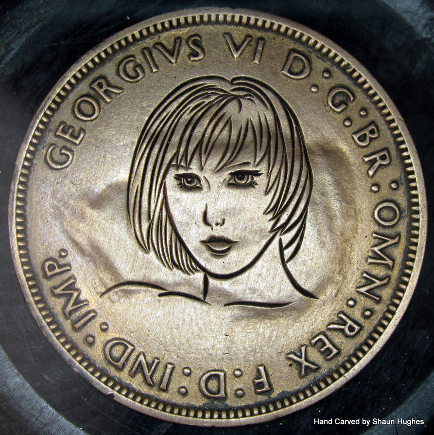 RPlatt Hand carved penny by shaun750