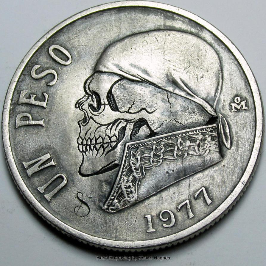 Un peso skull by shaun750