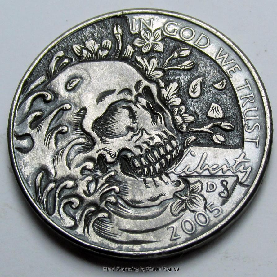 Skull 2005 Nickel by shaun750