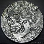 Hand engraved Half Dollar