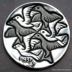 Escher Hand Carved Hobo Nickel by shaun750