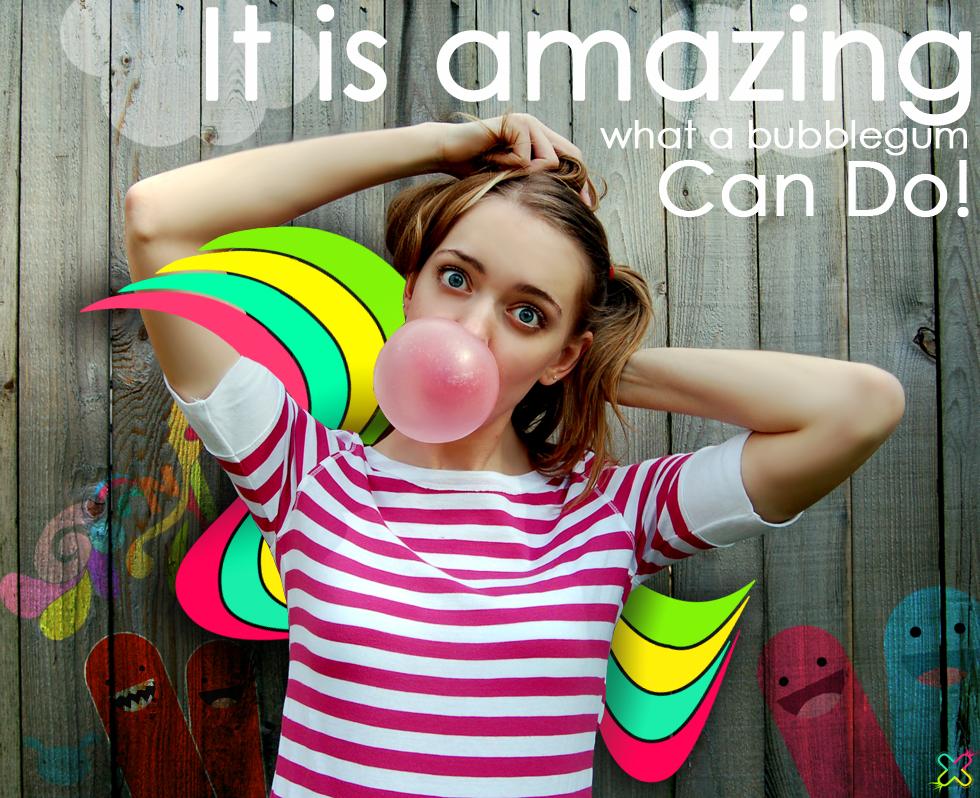Magic Bubblegum by koukla-loves