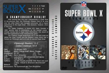 Super Bowl X DVD Cover by JamieTakahashi