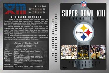 Super Bowl XIII DVD Cover by JamieTakahashi