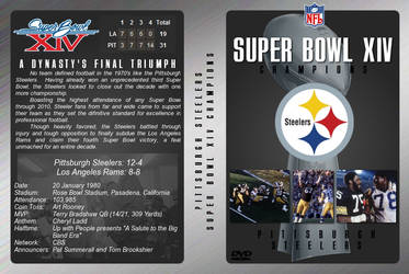 Super Bowl XIV DVD Cover by JamieTakahashi