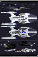 Ark Royal Class Schematics by JamieTakahashi