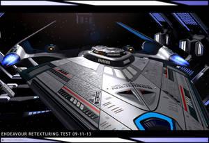 Endeavour Retexturing Test 09-11-13