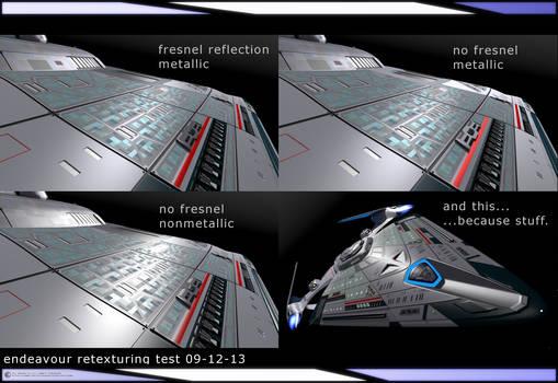 Endeavour Retexturing Test 09-12-13