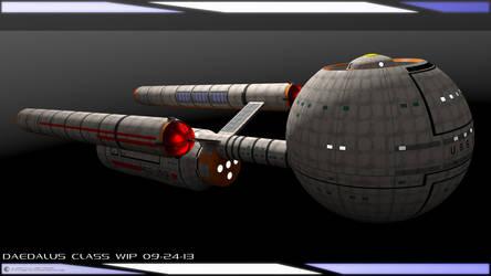 Daedalus Class WIP 09-24-13