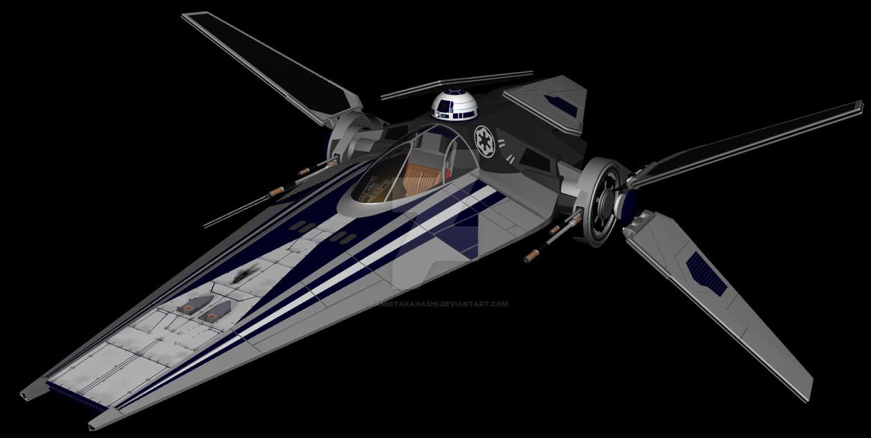 Alpha 4 Nimbus V-Wing WIP by JamieTakahashi