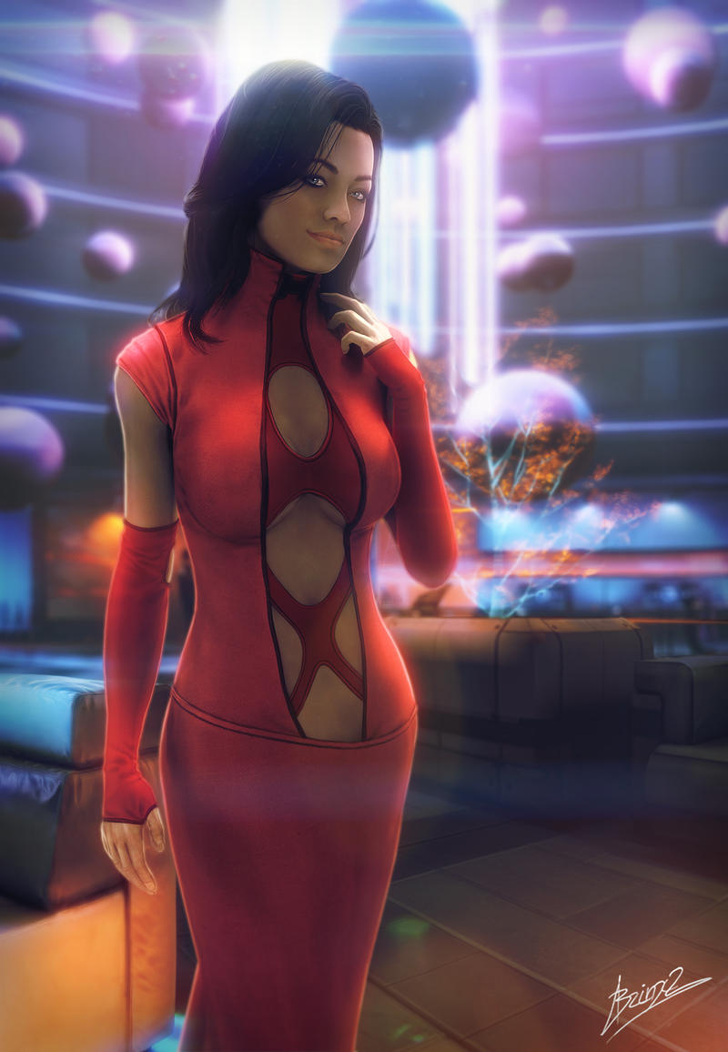 Miranda Red dress by brinx-II