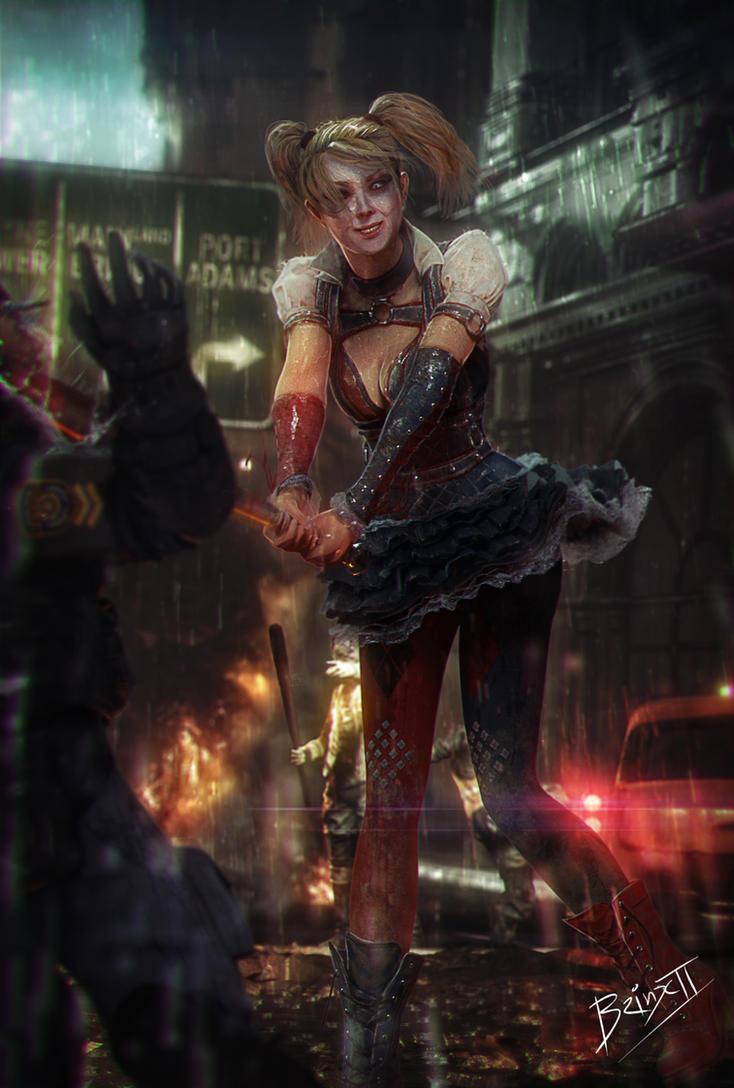 Harley has fun by brinx-II