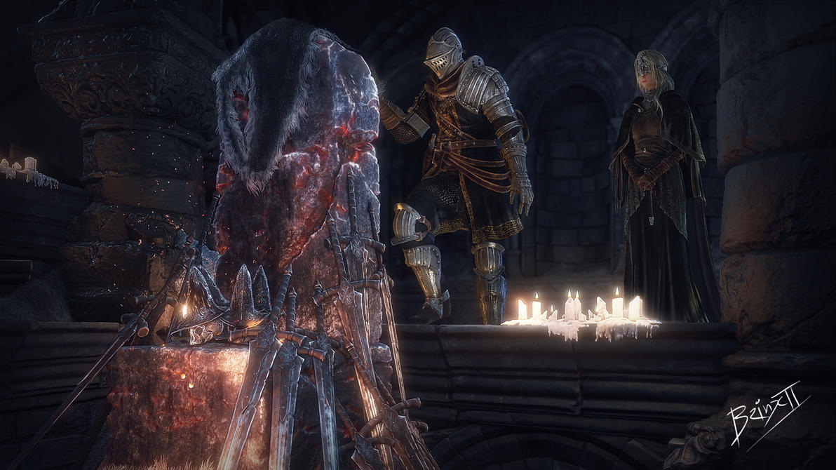 Throne of abyss watchers by brinx-II