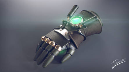 Asami's Electrified glove by brinx-II