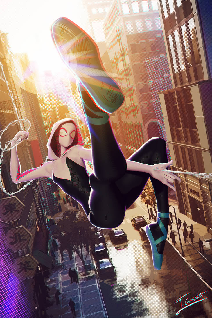 spider-gwen by brinx-II